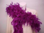 Purple Feather Boa - Ladies Red Hat Society