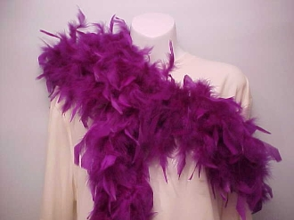 Purple Feather Boa - Ladies Red Hat Boa