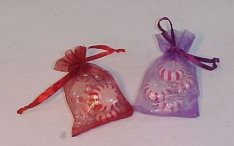 Set 6 Red Hat Society Ladies Gift Bags - Red Hat Ladies Gift Bags