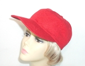 Cotton Baseball Cap - Red Hatters