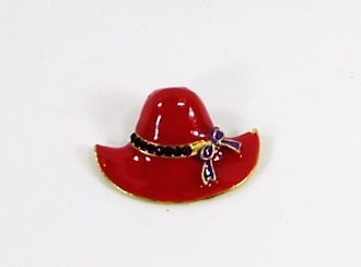 Red Hat Enamel Pin - Red Hat Lady Accessory