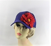 Dapper Daisy Purple Baseball Cap