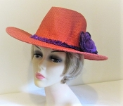 Carefree Cowgirl Red Western - Red Hat Society Colors