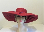 Understated Elegance Red Hat - Red Hat Lady Society