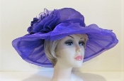 Perfect In Purple - Red Hat Society Ladies