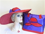 Saucy Straw Ensemble - Red Hat Society Ladies