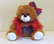 Too Too Cute Red Hat Bear - Red Hat Society Ladies