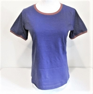 Large Size Purple and Red T-Shirt - Red Hat Lady Colors