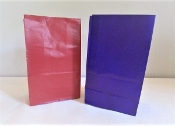 6 Red - 6 Purple Treat Bags - Red Hat Party Favor