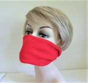 Bandanna - Face Mask - Head Band - Red Hat Lady Accessory