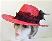 Wild Western Red Hat - Red Hat Society Lady Original Colors