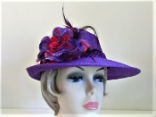 Pleasantly Purple - Lady Purple Hat