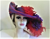 Feather Frenzy Red Hat
