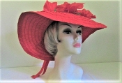 Sophisticated Swinger Red Hat