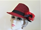 Racy Red Fedora - Red Hat