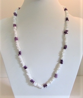 Necklace - Chipped Puka Shell