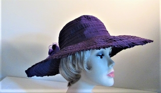 Purple Hat - Picture Perfect Hat - Red Hat Official Colors