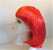 Red Wig - Halloween - Red Hat Lady Accessory