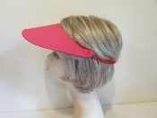Visor - Red Foam - Red Hat Ladies Visor