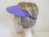 Visor - Purple Foam - Red Hat Ladies Visor