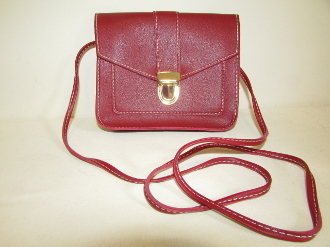 Cross Body - Shoulder - Bag - Red Leather - Red Hat Ladies