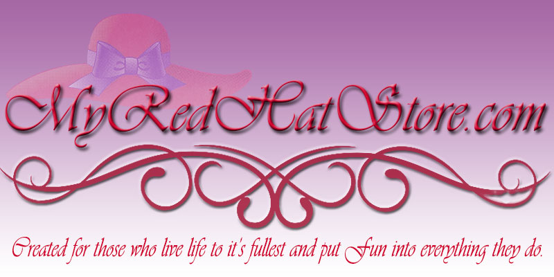 Red Hats, Red Hat Society Hats, Red Hat merchandise, Red Hat items
